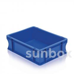 Caisse NE gerbable Bleu (60x40x10cm) 25L